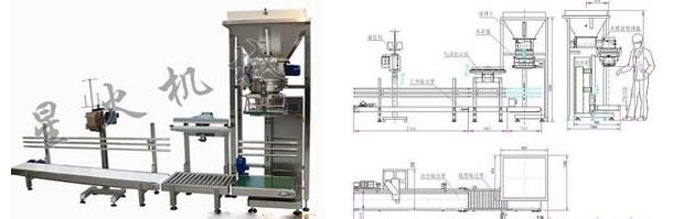 晋城粉剂包装机|晋城自动粉剂包装机结构图